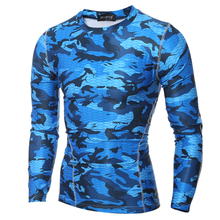 Buy 2017 Summer Men Camouflage Shirt Quick Dry Breathable Tights Army Tactical T-shirt Mens Sportswear Compression T Shirt Fitness for $9.20 in AliExpress store