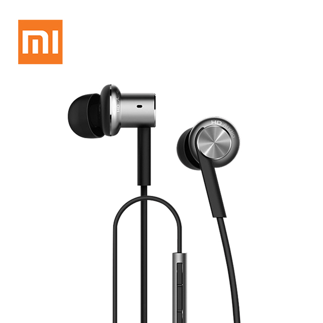 Original Xiaomi Hybrid Earphone with Mic Remote Headphones Headset for Xiaomi Redmi Red Mi Phone ear Headphones Computer MP3
