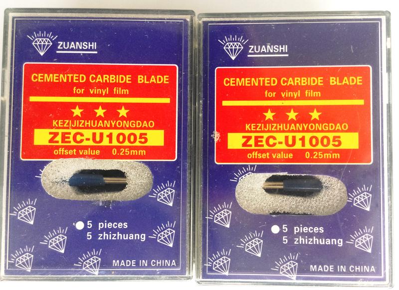 Fast Shipping High Quality 15pc 60 degrees Roland Cricut Cutting Plotter Vinyl Cutter Knife Blades(China (Mainland))