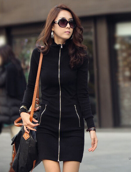 Zip up Hoodies For Women Hoody Dress Fashion Zip up