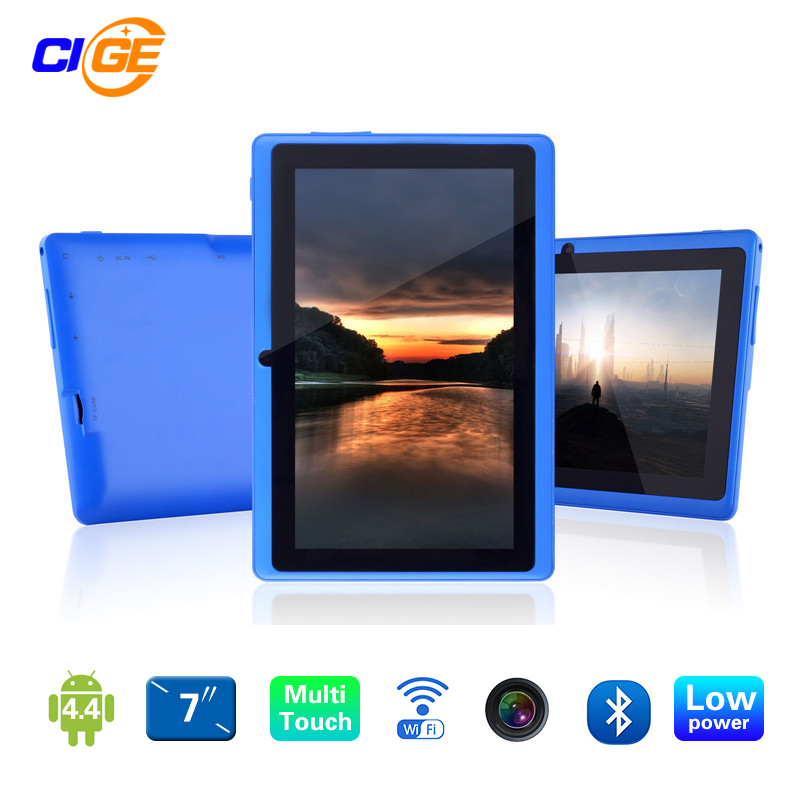 Newest 7 inch Quad Core 1.2Ghz Android 4.4 Q88 Allwinner A33 Tablet PC Dual Cameras wifi Bluetooth(China (Mainland))
