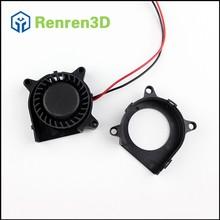 Mini DC Flow Fan Ball Bearing 12V Brushless Motor Centrifugal Blower Cooling Heatsink Cooler 40x40x20 40mm