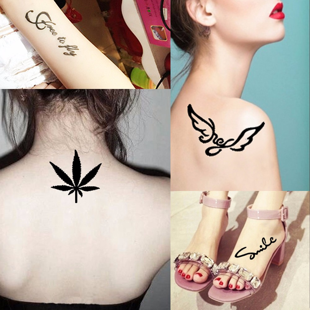 Mehndi Body Paint Temporary Makeup Drawing for Tattoo Stencil (1)