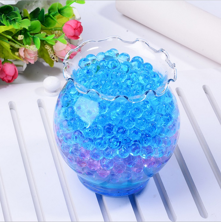 1 bags 100pcs crystal soil hydrogel gel polymer water for Decoration maison aliexpress