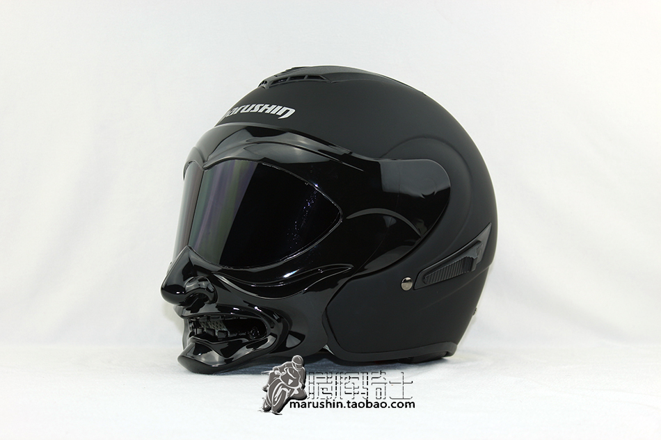 Free shipping German designer genuine marushin Helmet Series C609 selling models black motorcycle helmet Asia(China (Mainland))
