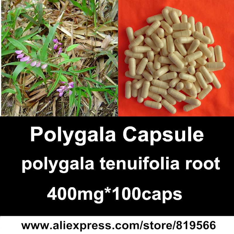 Polygala Tenuifolia Root Extract Capsules Yuanzhi Health Care Herbal Polygalaceae Powder Caps Dietary Supplements Polygalae<br><br>Aliexpress