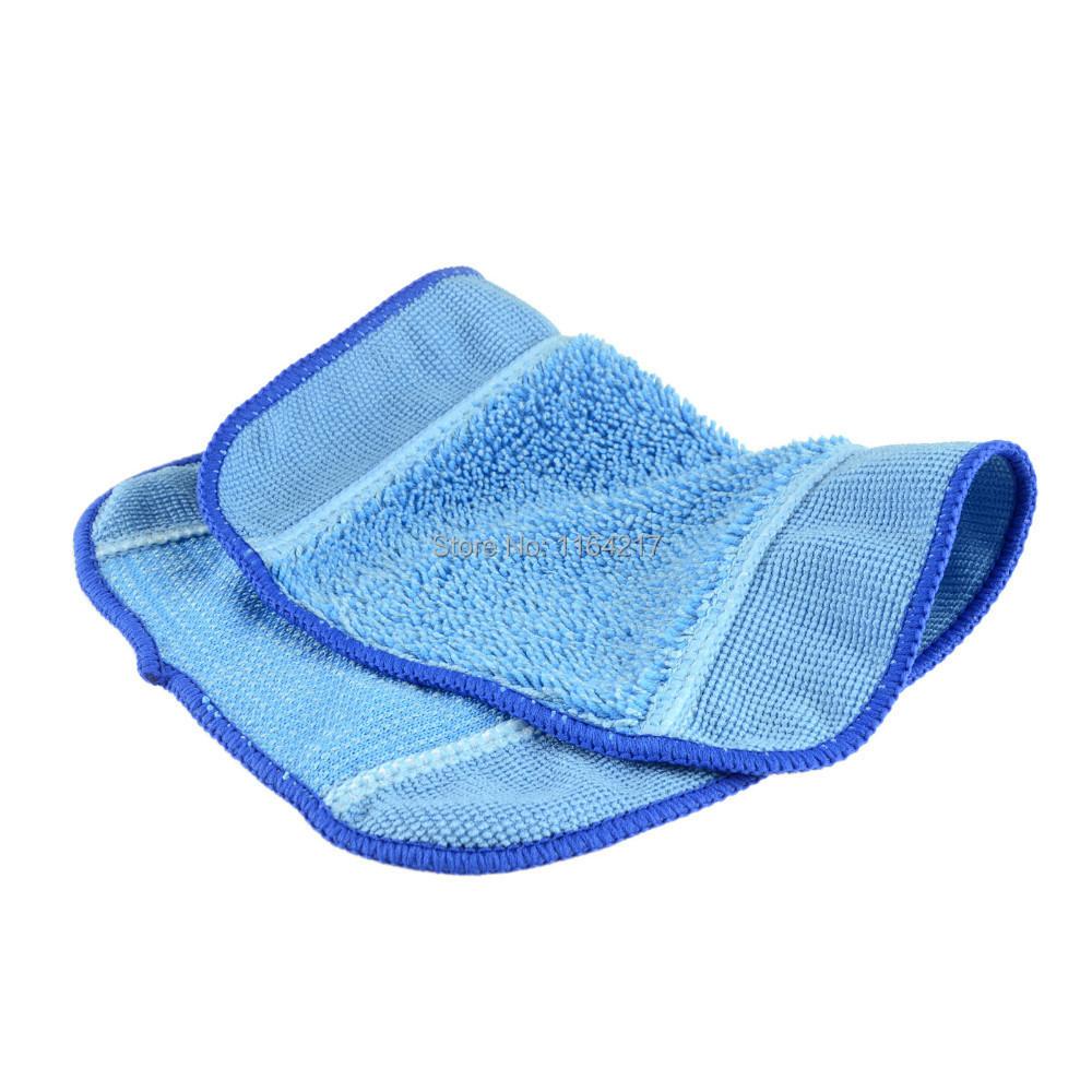 12pcs/Lot Microfiber Mopping Cloth wet kit for iRobot Braava 380 380t 320 Mint 4200 4205 5200 5200C Robot replacement(China (Mainland))