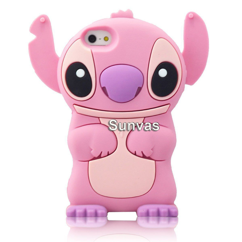 3D Cartoon Soft Silicone Mobile Phone Back Case Cover Skin Shell For Apple iPhone 5 5S 5C SE 6 6S 6 Plus 6S Plus