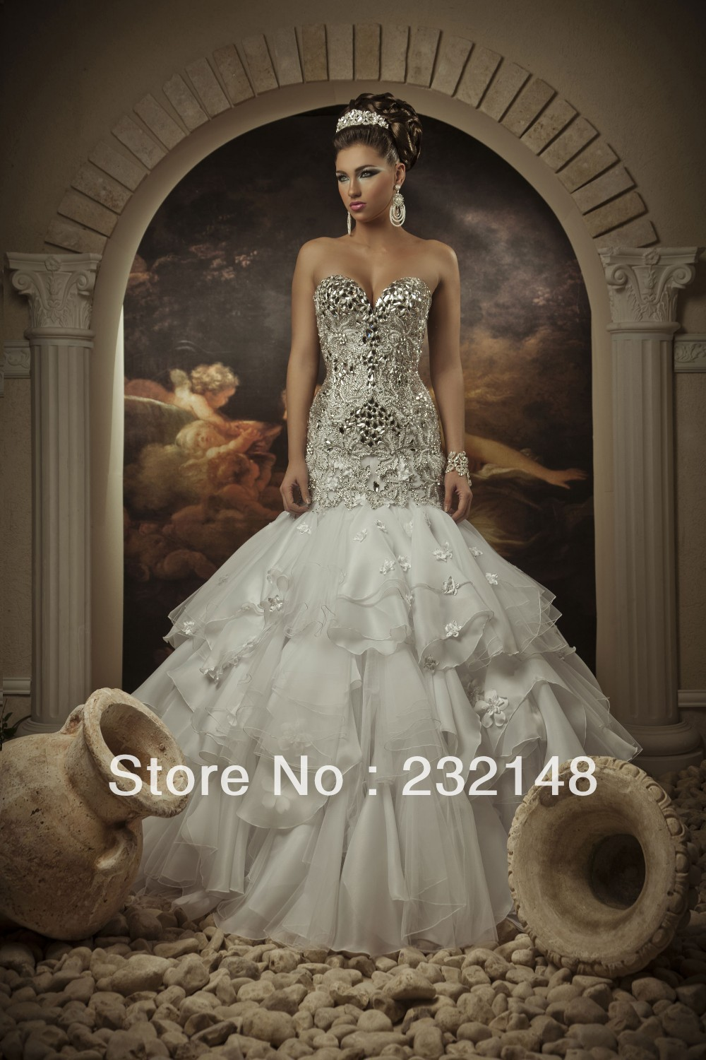 princess style wedding dresses with bling bling wedding dresses Princess Ball Gown Wedding Dress With Bling Naf Dresses