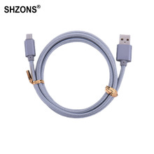 Buy 1m Type-C USB Charging Cable USB 2.0 Snyc Data Fast Charger Cable Nokia N1,Xiaomi 4C,Nexus 5X,6P,OnePlus 2,ZUK Z1,MX5 Pro for $1.08 in AliExpress store