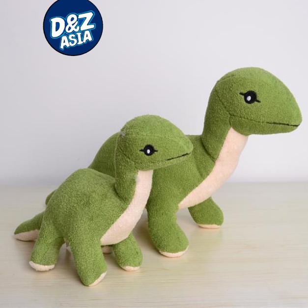 1pcs 30cm Classic toys green Dinosaur plush doll toys for children Long-necked dinosaur bulk dropshopping(China (Mainland))