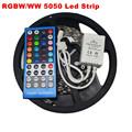 5M 300Leds Flexible RGBW 5050 SMD LED Strip Light Waterproof DC12V RGB White Diode Tape RGBW