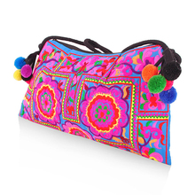 New Womens Bag Trend Boho Embroidered Floral Bags Shoulder Messenger Vintage Handbag Gifts New Arrival
