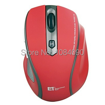 high quality cortex 3 color 6 key 2.4GHz Wireless Optical Gaming Mouse Mice For Computer PC Laptop 1600 CPI Wireless Mouse Red(China (Mainland))