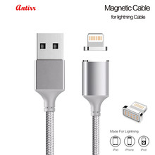 Buy Antirr Magnetic Cable Nylon Braided Lightning USB Cable Data Cable Magnet Fast Charging Cable iphone 5 5s 6s 7plus #30 for $3.42 in AliExpress store