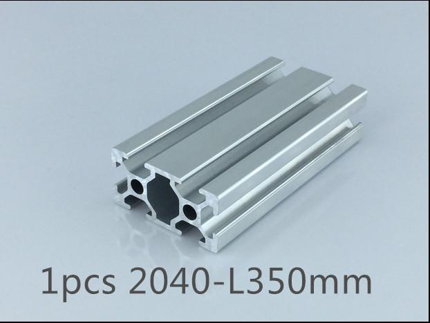 Гаджет  1pcs 2040 aluminum extrusion profile length 350mm width 40mm high 20mm industrial aluminum profile for cnc engraving machine None Строительство и Недвижимость
