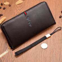 New Brand Genuine leather men's wallet quality guarantee cow leather top purse ultrathin wallet  wholesale  Free Shipping