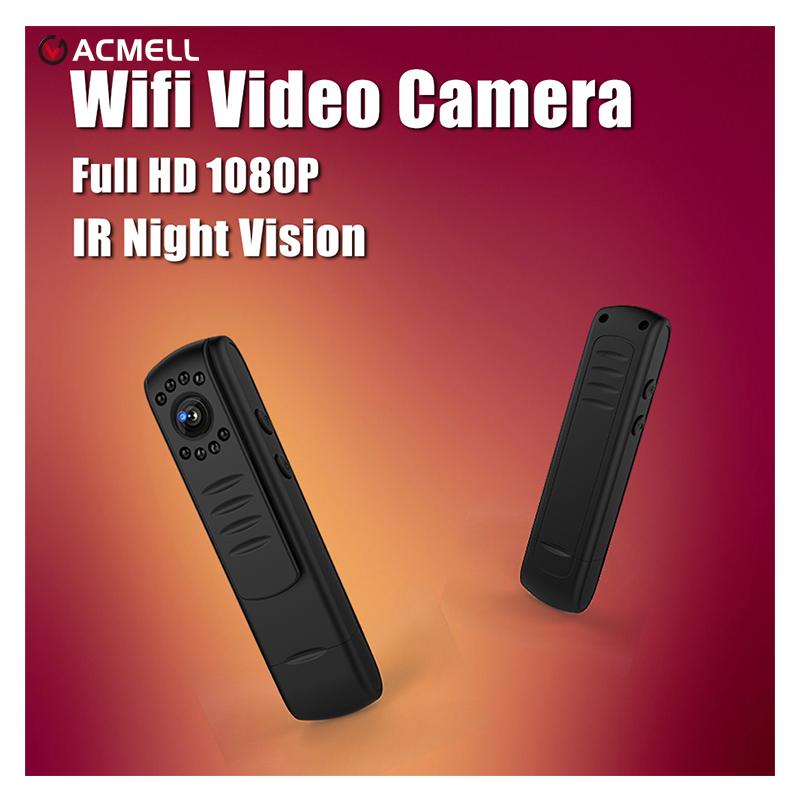 Wifi Mini Camera Full HD 1080P H.264 Kamera IR Night Vision Pen Camera Mini DV DVR Camera Digital Voice Video Record Camcorder(China (Mainland))