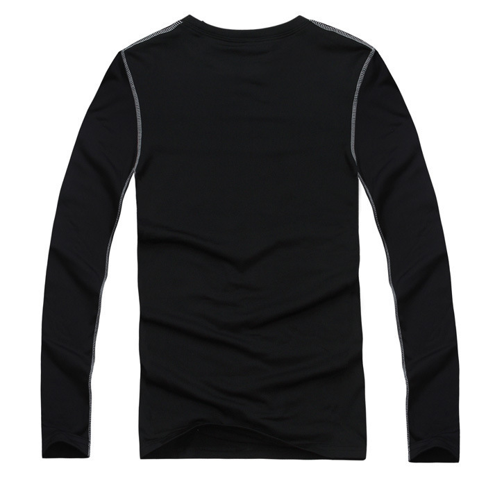 Men winter warm Fitness Clothes long sleeve Compression Body Wear Base Layer t shirt Top Shirt Tops Skin Jersey S-XXL - 4wmall store