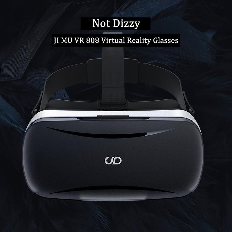 """ถูก JIMU VRกล่อง4.0 3D VRแว่นตาที่มีต่อต้านตาลายในตัวGyroscopeชิปMCU Latencyต่ำสำหรับ5.0-5.7 """"มาร์ทโฟน+บลูทูธระยะไกล"""