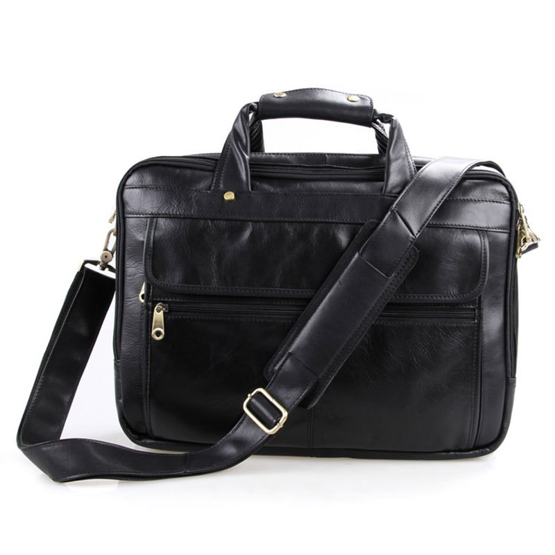 High Quality Vintage Genuine Leather Briefcase for Man Business Cowhide Tote Bag PR76<br><br>Aliexpress