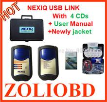 New arrival NEXIQ Auto Heavy Duty Truck Scanner tool NEXIQ USB Link better than DPA5 on sale nexiq 125032 usb link DHL Free(China (Mainland))