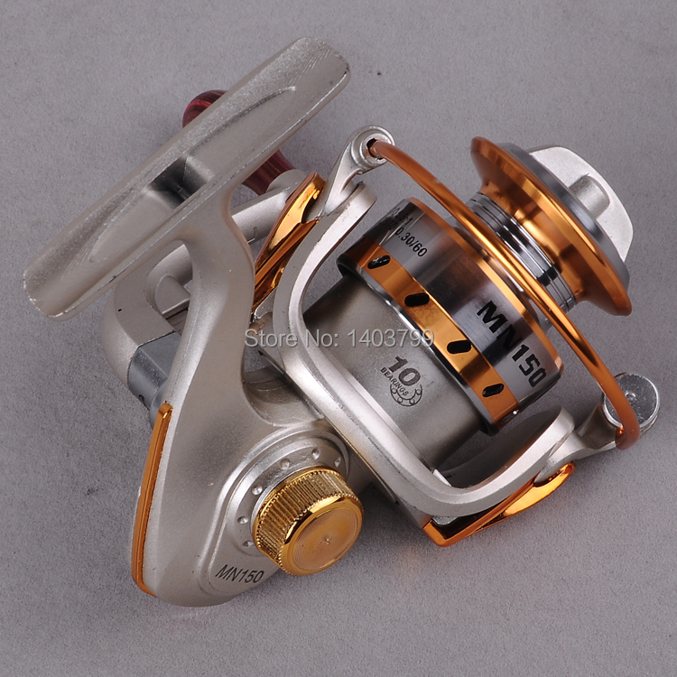 2015 new 10 BB Spool Aluminum Spinning fly fishing reel baitcasting fishing reels saltwater okuma baitrunner metal front drag(China (Mainland))