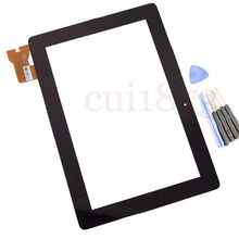 free shipping tracking code Digitizer Touch Screen Glass FOR Asus MeMo Pad Smart 10 ME301 ME301T 5280N  FPC-1(China (Mainland))