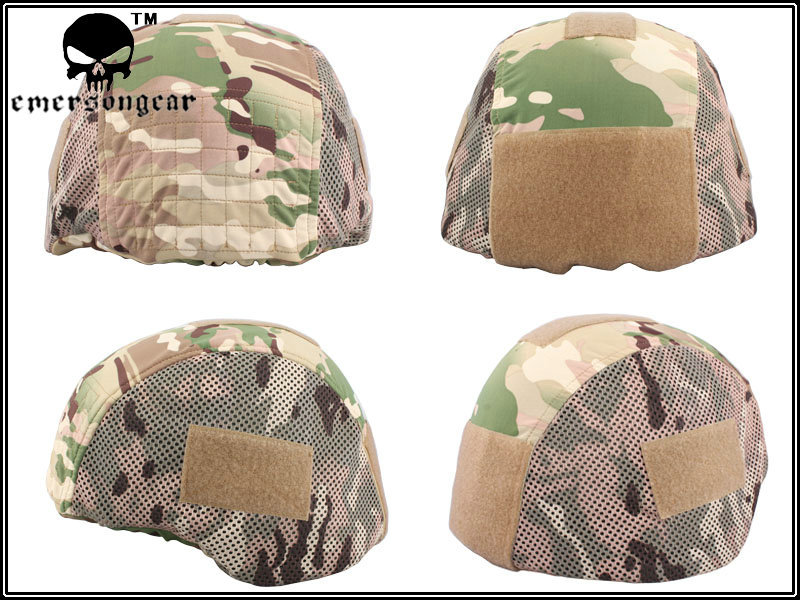 EMERSON FS military style tactics cloth helmet cover helmet MICH 2000 / MC Color 100% PolyesterEM8815(China (Mainland))