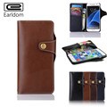 Luxury Phone Cases Retro Genuine Leather Wallet Stand Flip Case For Samsung Galaxy Note 7 Phone