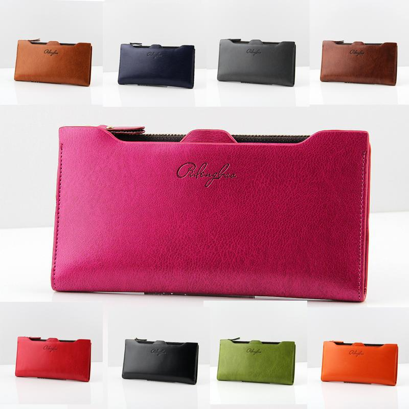 2014 new arrival leather women's wallets Lady messenger bag design wallet change purse for Lady wallets FREE shipping NQB60(China (Mainland))