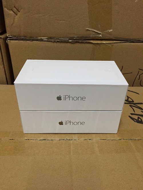 1 Pcs/Lot US EU Version Original Quality Packing Box For iPhone 6/6 Plus Without Accessories Package Box For iPhone 6/6 Plus(China (Mainland))