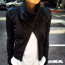 Biker perfecto Leather Suede jackets faux leather jacket for women's designer fashion outerwear jacket supernova jaqueta couro(China (Mainland))
