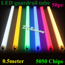 Buy New 50pc 1 meter meter supper bright LED guardrail tube LED outdoor tube light led tube light 36/48pc/M SMD5050 DC24V for $404.75 in AliExpress store