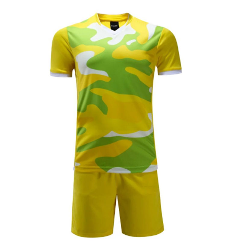 2016 new arrival mens football training suit sports team tracksuit adult DIY camouflage blank soccer jersey sets running suits(China (Mainland))