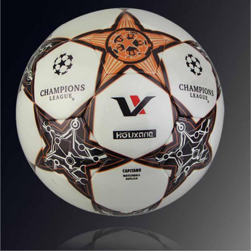 New soccer goal balls football ball offical size 5 balon soccer pu balls pelotas bola de futbol ballon de foot on sale(China (Mainland))