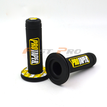 "Pro taper Motorcycle High Quality Protaper Dirt Pit Bike Motocross 7/8"" Handlebar Rubber Gel Hand Grips Brake Hands Handle Grip"