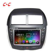 Latest Quad Core Android 5.1.1 Car DVD Player Mitsubishi RVR ASX Citroen C4 Puegeot 4008 Radio GPS, Support WC OBD BT - AE Online store