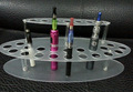 1pcs acrylic e cig display holder shelf clear cigarette electronic display stand for e cig ego