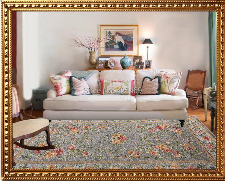 100% polyster Pastoral minimalist retro fashion coffee table sofa living room bedroom carpet mats durable - Sport's goods store