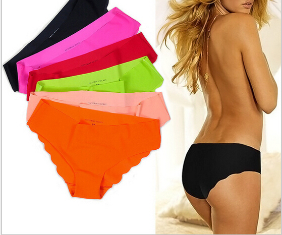 New Fabric Ultra thin Women Seamless Underwear Women panties Pink Briefs free shipping