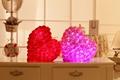 Luminous Stuffed LED Light Up Plush Bouquet Of Roses Glow Music Playing Illuminated Love Heart Shaped