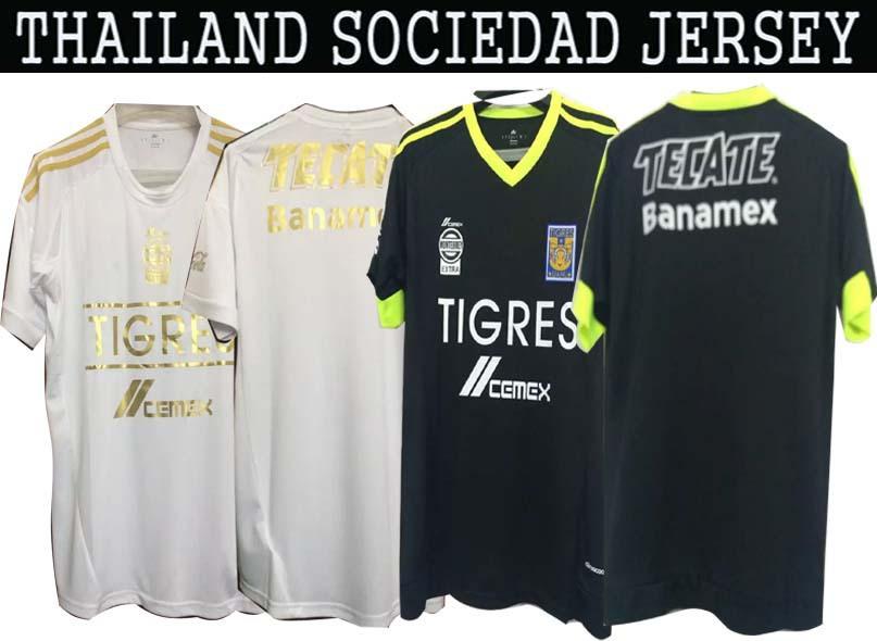 Shirt Tigers 2015 football shirt from 2016 Mexico CHANDAL Tigers Jersey Football Club Custom Shirt Futbol Tees best Thai(China (Mainland))