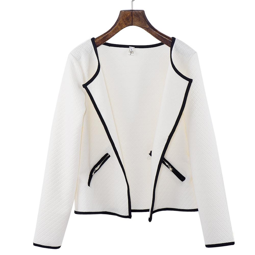 2016 New brand Fashion Women Long Sleeve Lattice font b Tartan b font Cardigan Top Coat
