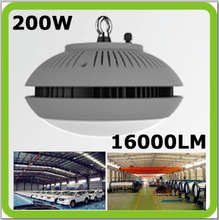 85-265V 200W LED high bay light LED industrial light 16000LM CAMPANA LED Dia320mm led canopy warehouse, factory, hall, gym etc.(China (Mainland))