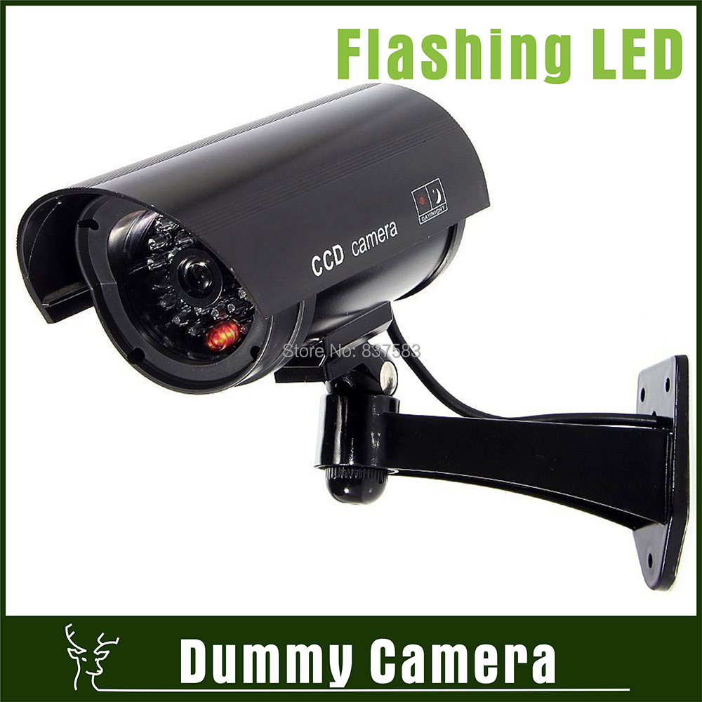 Cheap security dummy fake cctv security ir camera outdoor - Camera de surveillance factice ...