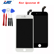 For iPhone6 LCD Screen Display Touch Digitizer Assembly Repair White Black For iPhone 6 LCD +Repair Tool Set