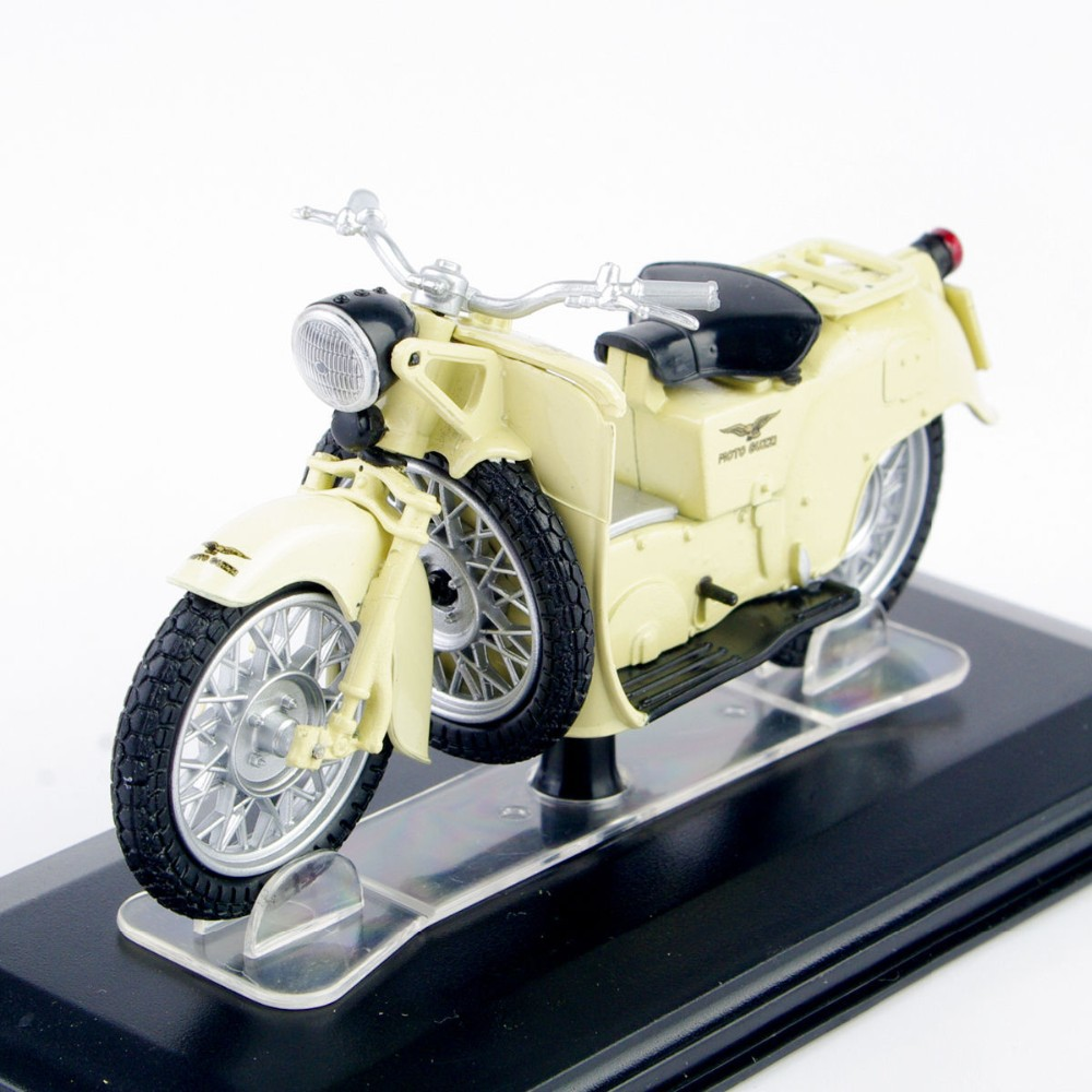 1:22 Scale Diecast Bike Collectible Fashions Mini Moto Guzzi Galletto 192 Moto De Brinquedo Bike Toy Assortment Reward