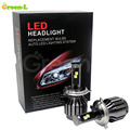 2pcs Led H4 Hi Lo 80W Custom Car Headlights H4 H L 12V Cree Led chip