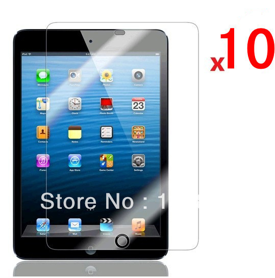 10 x Ultra New LCD Clear Transparent Front Screen Guard Protector for iPad mini